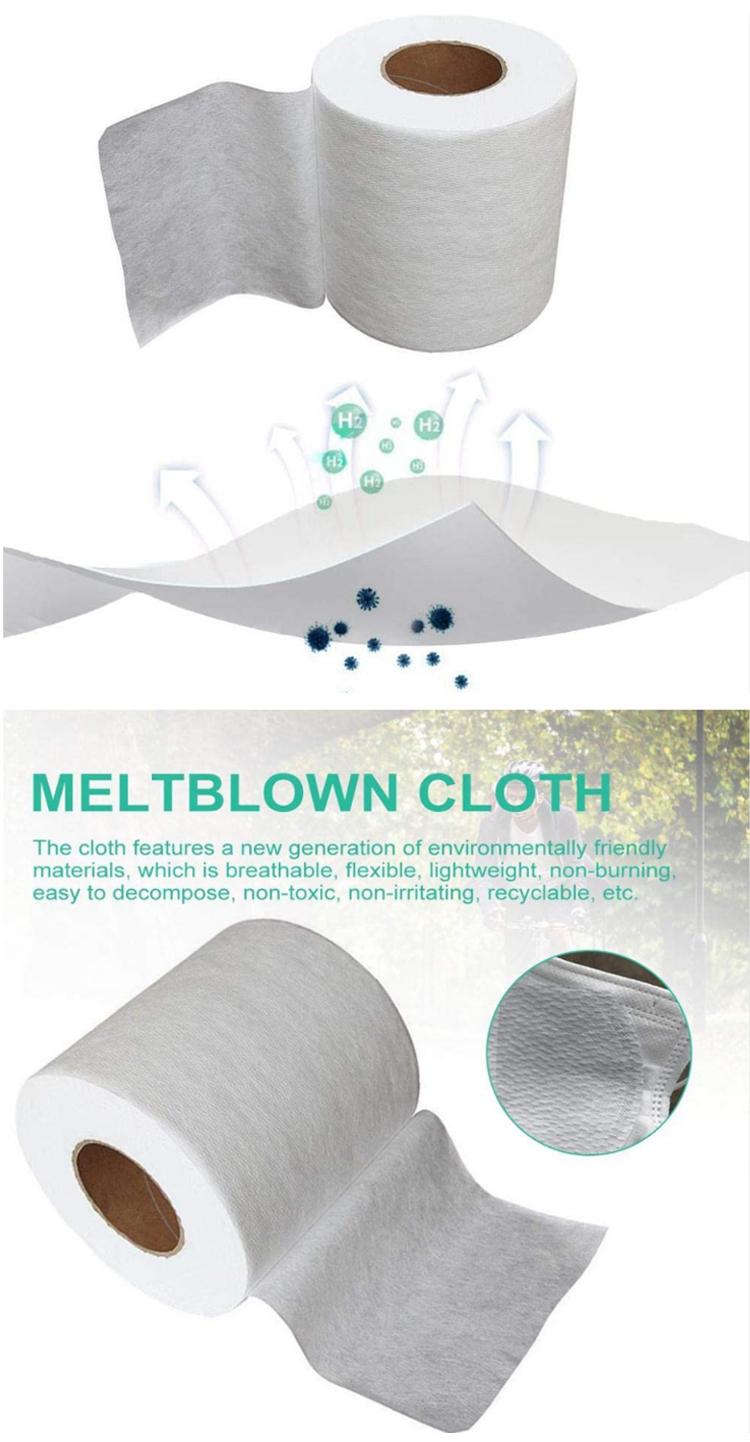 メルトブローンとスパンボンド不織布生地インド吸収拭く 99 香港