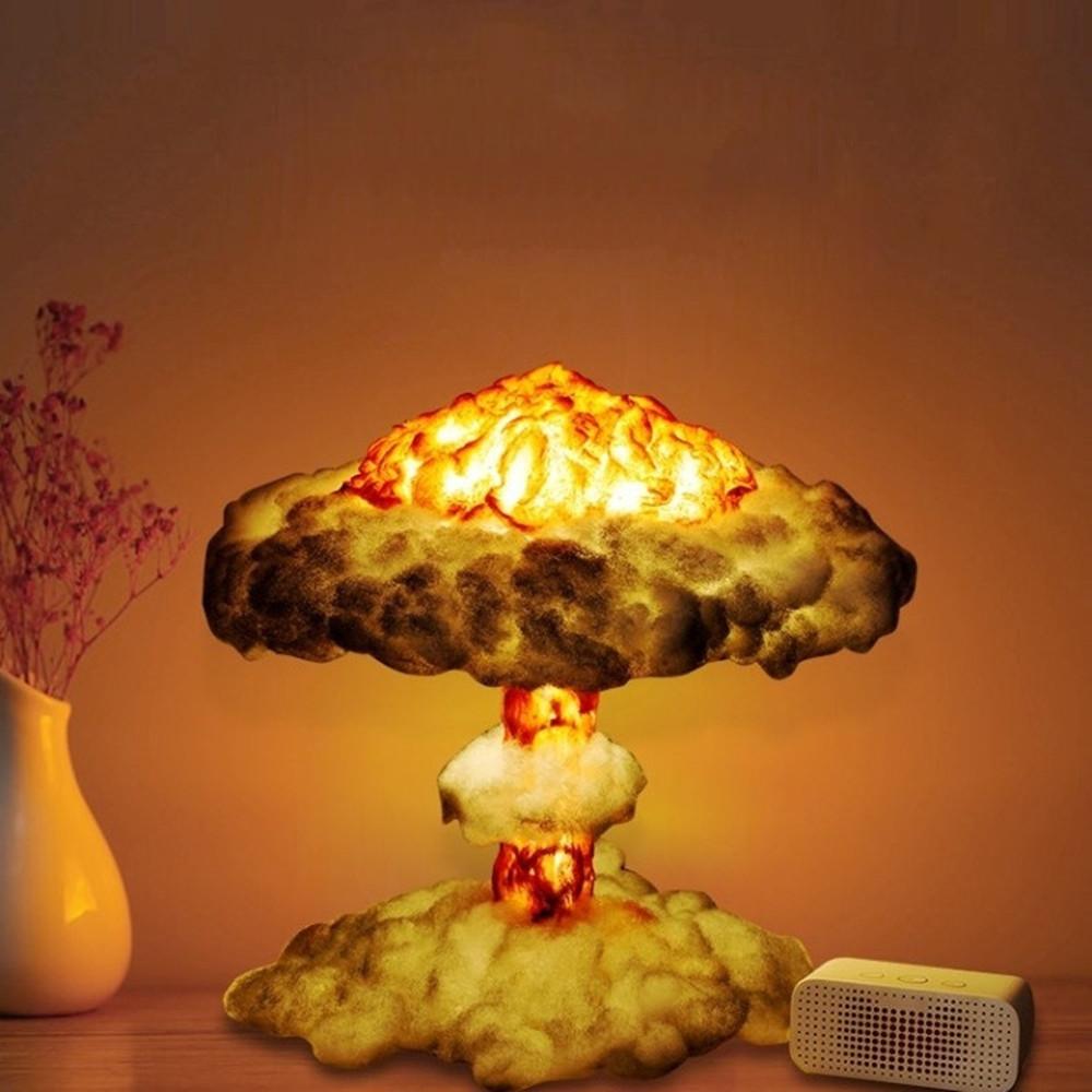 Новейший дизайн DIY затемнения гриб лампа для творчества ночной Светильник