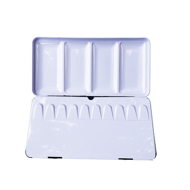 Set Pabrik Langsung 48 Warna Cat Air Solid dengan Kotak Timah Portabel
