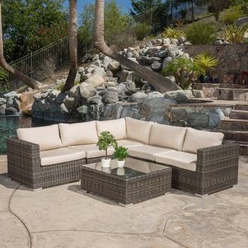 All Weather Wicker Polyrattan Sofa Set