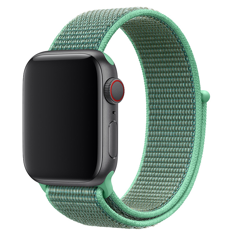 70 Colors Breathable Fabric Loop Replacement Sport Nylon Strap Band for Apple Watch 1 2 3 4 5 6