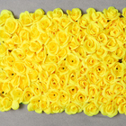 Basic Design Custom Color Cheap Wholesale Rose Panels Artificial Flower Wall