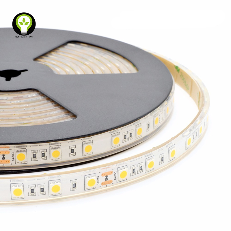 3 years warranty 20-22lm under water application IP68 SMD 5050 3000K/6000K/Red/Green/Blue/Yellow/RGB LED strip