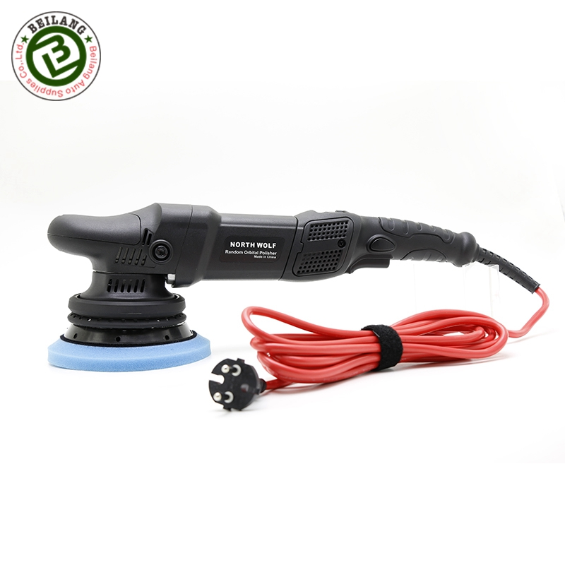 North Wolf 900 W 15 mm Auto Dual Action Polisher Car Wax Polishing Machines for Car Care Shop