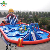 2019 Popular water park design build One Stop Servise inflatable water park Designer
