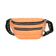 Классическая текстура, Женская поясная сумка из искусственной кожи, однотонная поясная сумка, сумка для телефона, сумка на плечо, Женский пр...(Китай)