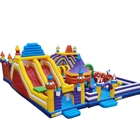 Different inflatable jumping castle fun city amusement park