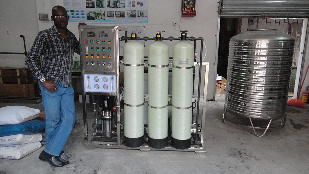 product-500 Lph Ro Plant Small Reverse Osmosis China Design Commercial Deep Well Purification Price