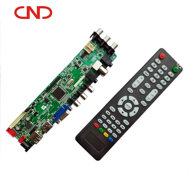V56u 1AV 2AV HD Lcd led tv universal placa principal samsung led tv motherboard