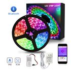 Hot Selling DJ Dance Floor Flashing 5050 SMD 5m Waterproof 30leds RGB Color Change Running LED Strip Light With Wifi Controller