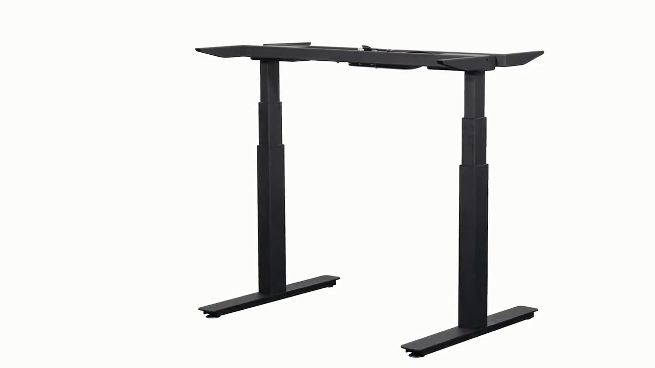 Офисный Рабочий стол с регулируемой высотой, две ноги, электрическая стойка для сидения, электрический стол с 2 ножками