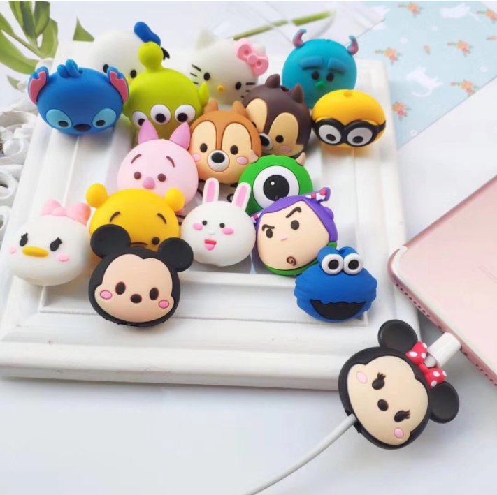 New Arrival Popular Cable Bite Series Phone Accessories Silicone Mobile Phone Usb Charging Cable Protector