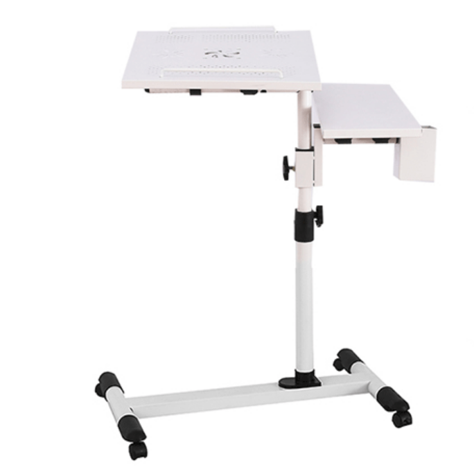 Folding Desk Portable Adjustable <strong>Laptop</strong> <strong>table</strong> cooling Stand For Bed Desk Stand Over Bed Sofa Metal <strong>Table</strong>