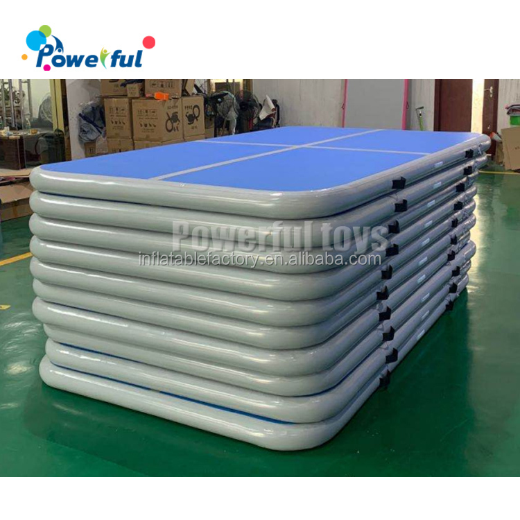 2020 air track wholesale inflatable tumble track for trampoline park