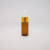 Pocket small deodorant refillable 5ml 10ml clear amber perfume glass fine mist spray bottle