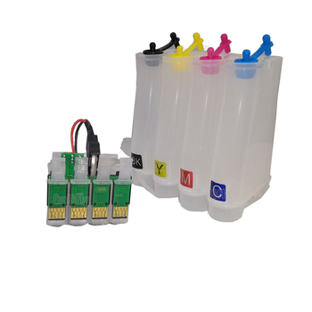 durable CISS empty with chip  4-color continuous ink system  printer tank  ink supply system for eps