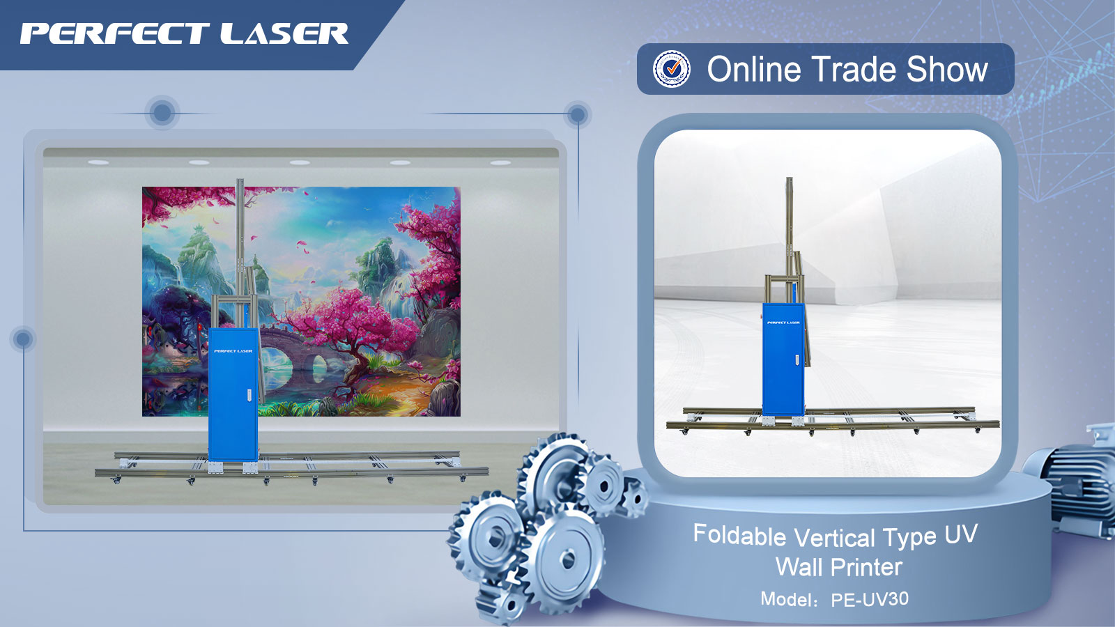 Customizable 3D Painting Machine Direct On Wall / Large Format Printing Companies