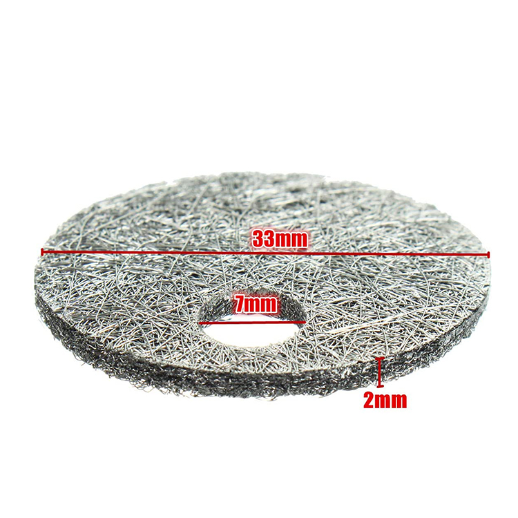 10 20 30 40 60 80 micron sus316L Metal fiber sintered felt for Polymer <strong>Filtration</strong>