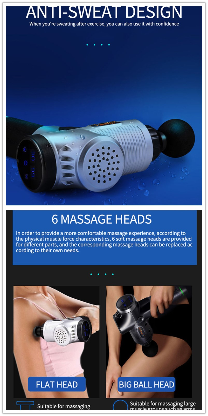 4000rpm 5200 Massage Gun 3600