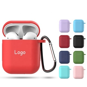 Air Buds Air Pod Case Silicone Waterproof Cover Custom Logo Protective Earphone for Earpods Covers