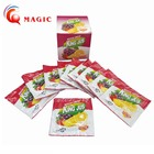 Concentrate instant fruit juice flavoured drink powder factory