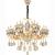 nordic chandelier lighting dining roim modern iron crystal chandeliers
