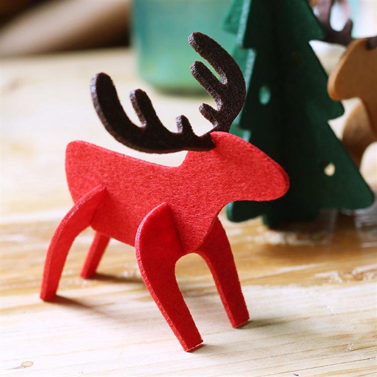 OEM डिजाइन कस्टम पेड़ क्रिसमस सजावट हिरण स्नोमैन क्रिसमस आभूषण