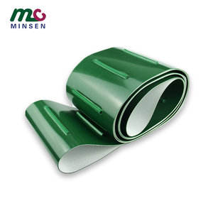 China sells high quality green pvc/pu conveyor belts and guide bars, accepts guide belt conveyor belt customization