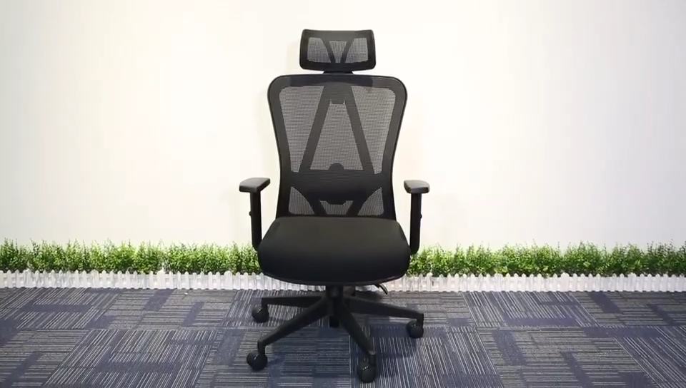 Office chairs china high back full mesh chair sillas de oficina with adjustable headrest office chair specification