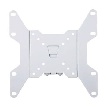 "Profile 12 mm Silver Small Fixed Heavy Duty Flat Panel Tv Wall Mount With 200 x 200 Max VESA For 17-37"" Lcd Led TV"