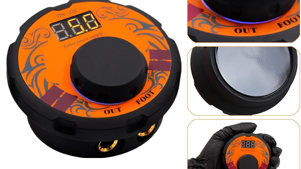 TPN026 Profissional Caneta fonte de Alimentação Do Tatuagem Rotary Kit de Máquina de Tatuagem Com Agulhas Cartucho Para Permanente