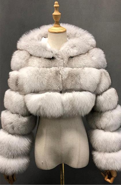Gorgeous Vintage BeaverFur long Coat size L brand is renard argente soft cute