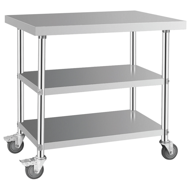 BN-W05 COSBAO stainless steel small kitchen <strong>table</strong>