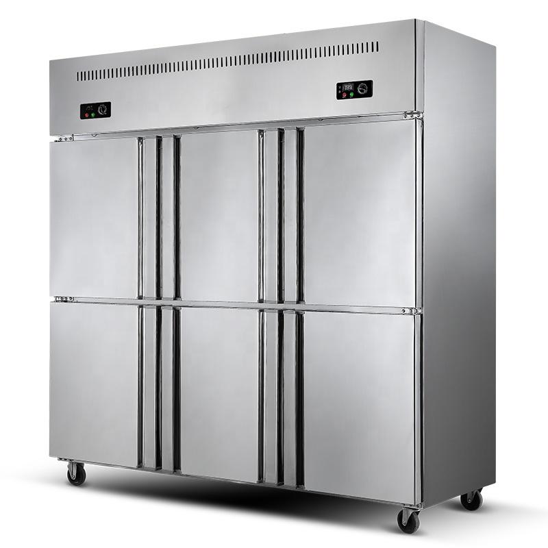 Restaurant Big Capacity 6 Doors Commercial Freezer Refrigerator For Hotel Kitchen Buy Commercial Freezer Refrigerator For Hotel Kitchen Restaurant Commercial Freezer Refrigerator Big Capacity Commercial Freezer Refrigerator Product On Alibaba Com