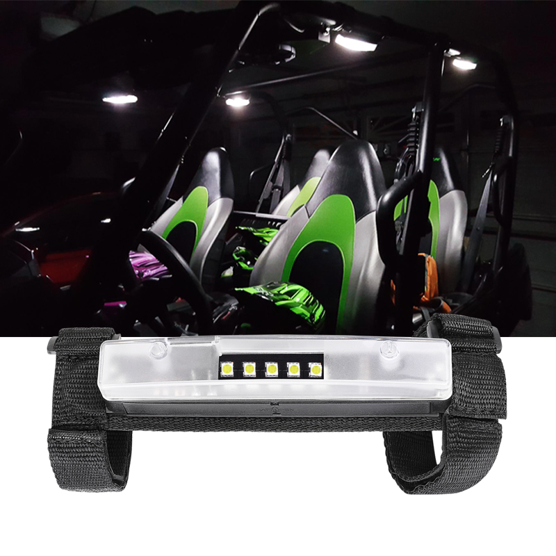 Small Moq Mounts On Roll Bars Max. 4 Inch Megnet Adsorbed Wraparound Light Bar Mini Led Light With Battery