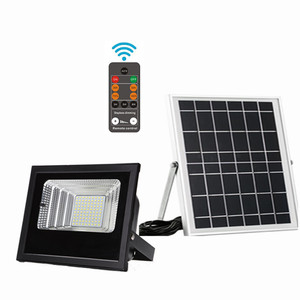 IP66 outdoor waterproof high power 50w 60w 80w 90w 100w 120w smd spot square fixture led solar flood light