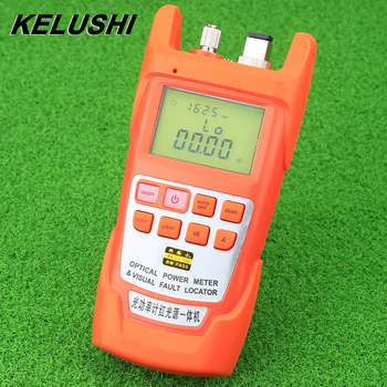 Light power red light source one machine 20mw Optical Fiber Cable Tester Fiber Portable Optical Power Meter -70 to +10dBm 20km