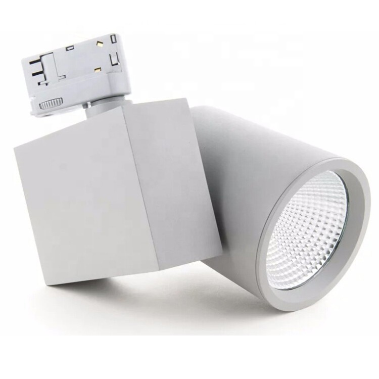 HH42 SAA 20w 30w 35w 40w 50w 70w 5000 Lumen Spot Linear Smart Housing Cob Led Track Light Manufacturer from China