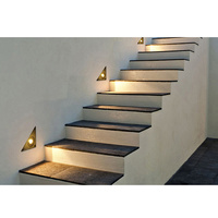 China Suppliers 1W Environmentally friendly durable porch pathway led stair wall lamp