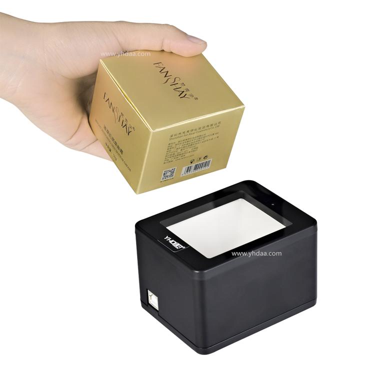 Desktop 1d 2d factory direct sale cmos qr industrial barcode scanner oem