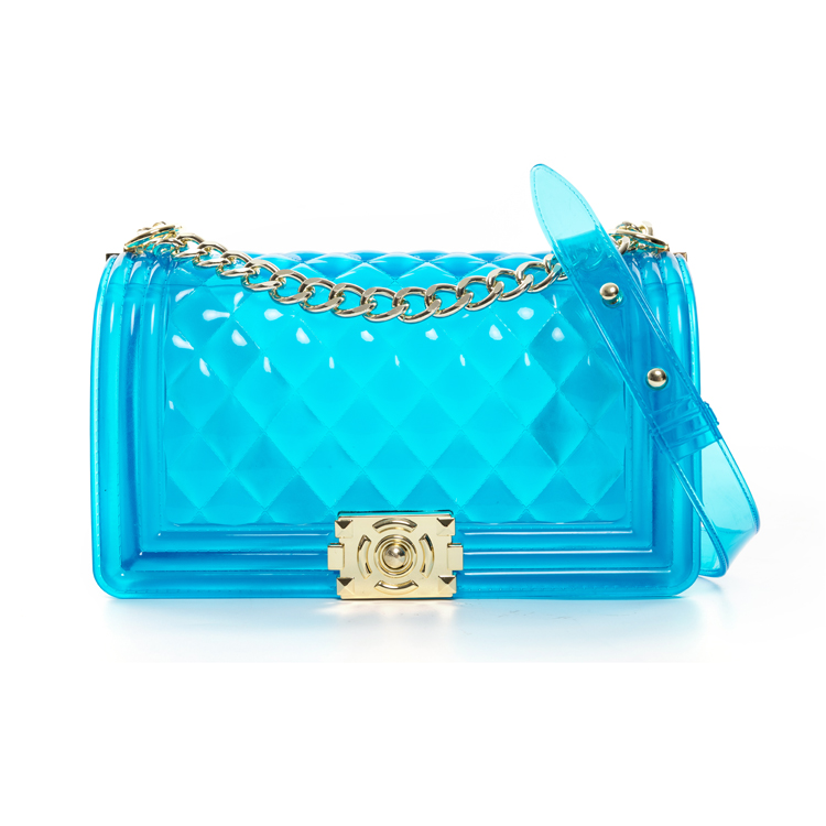 2020 new arrivals summer wholesale Colorful pvc women designer Jelly candy bags fashion luxury ladies jelly purses handbags