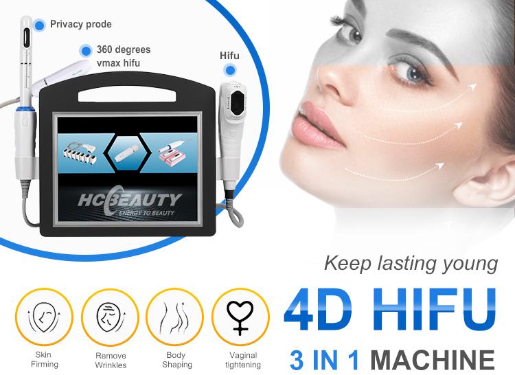 2020 d'affaires visage et corps 12 lignes populaire anti-vieillissement hifu échographe hifu 4d