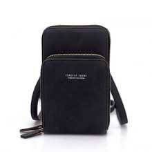 Женская сумка через плечо для мобильного телефона, сумка для мобильного телефона, модная сумка для повседневного использования с держателе...(Китай)