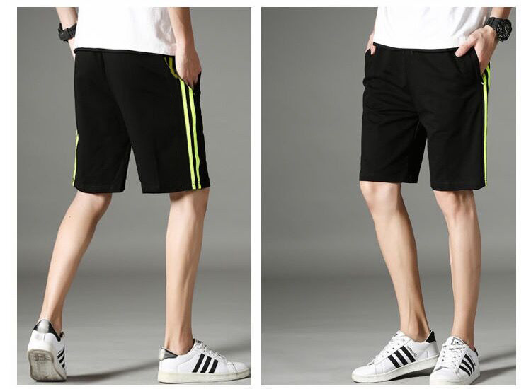Wholesale cheap sports shorts men with simple design breathable mesh plain track shorts in stock