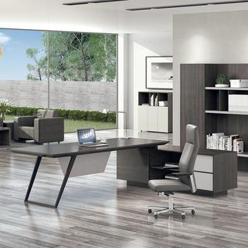 Modern Executive Desk Luxury Office Furniture L Shape Executive Office Desk with High Quality