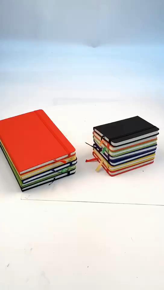 Giá Rẻ Hardback Tạp Chí PU Leather Cover Pocket Diary A5 Máy Tính Xách Tay Khuyến Mại Cho Logo Tùy Chỉnh Thương Hiệu