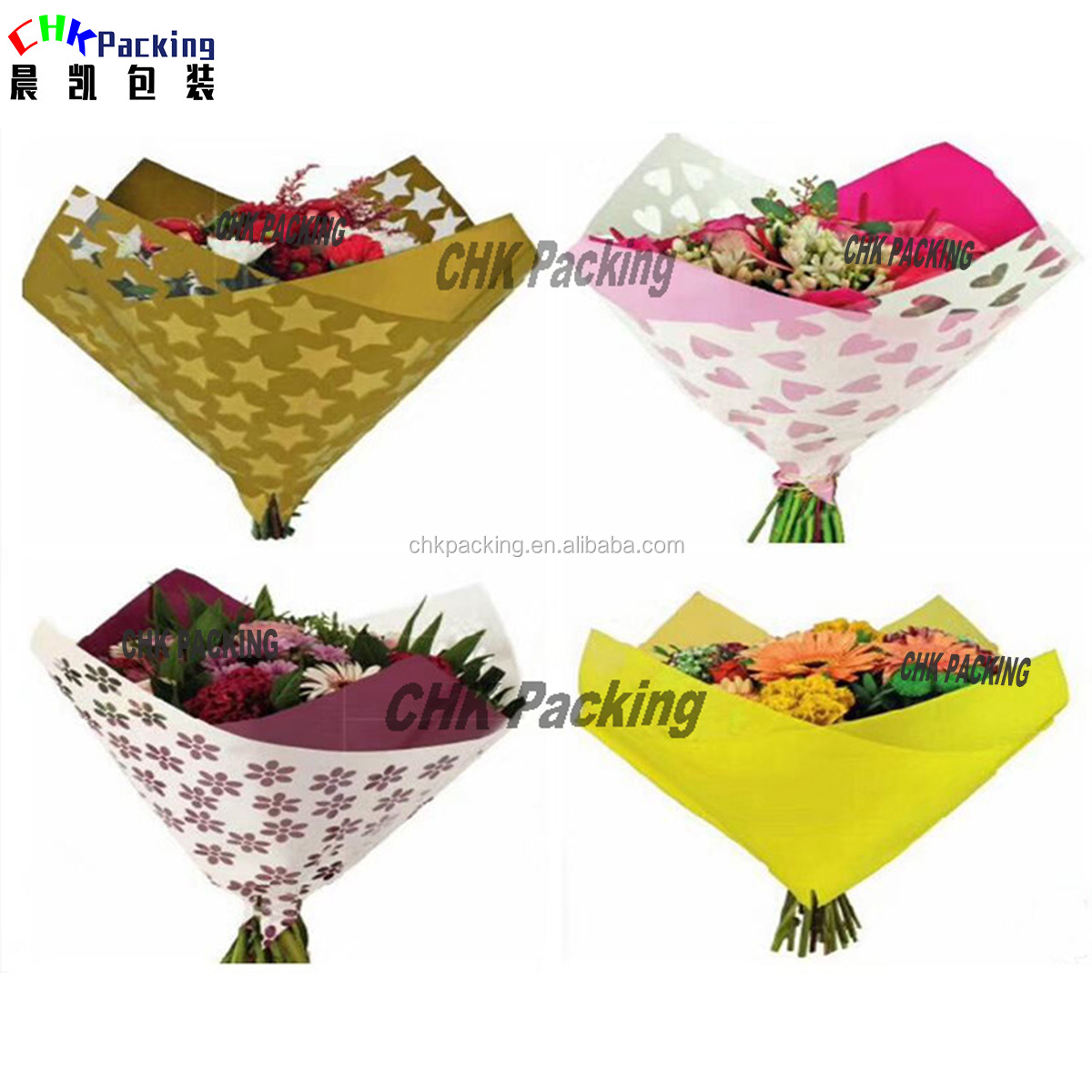 colorful custom flower wrapping  package film/fresh flower wrapping paper colorful custom flower wrapping  package film/fresh flower wrapping paper