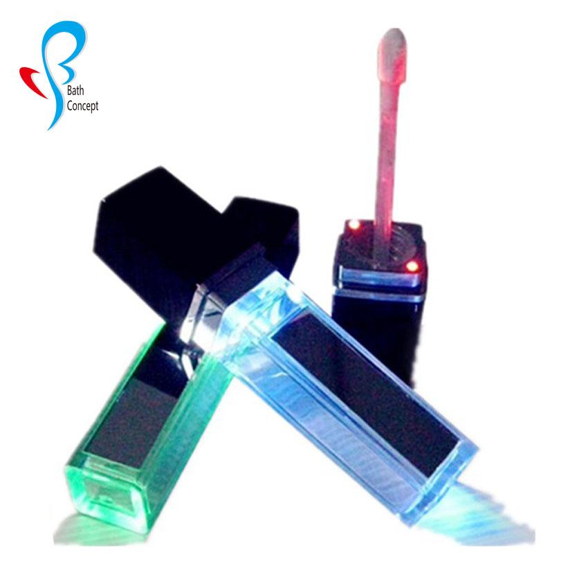 OEM factory 22colors matte lipgloss no brand matte liquid lipstick led light lip gloss