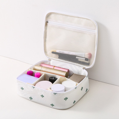 Large Capacity Makeup Reusable Oxford Cosmetic Case Bag