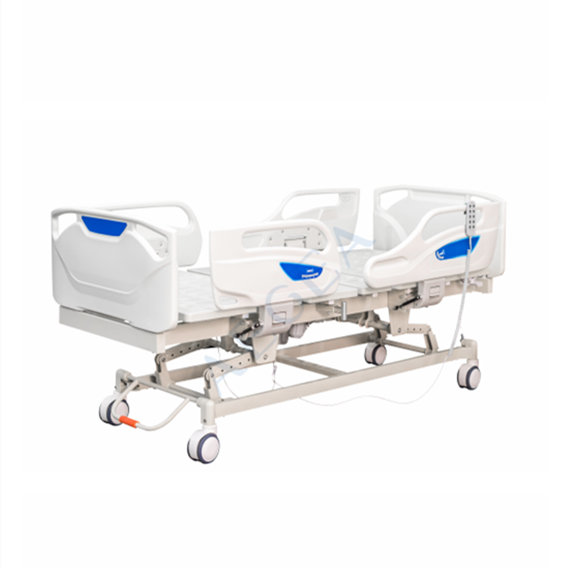 AG-BY010 New arrival portable adjustable patient room nursing medical electric hospital bed manufacturer in stock